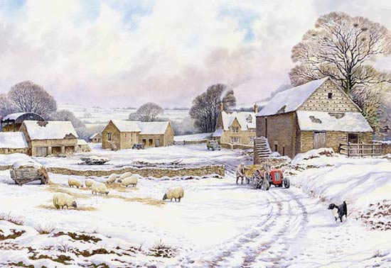 DovecoteFarm - If you wish to order this as a Limited Edition Print - Click Now for details!