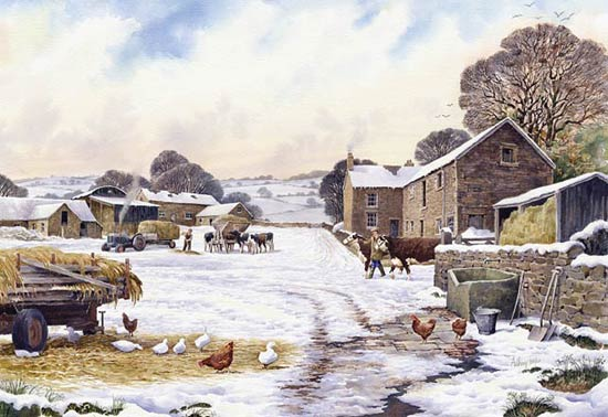 Lowerhill Farm  - If you wish to order this as a Limited Edition Print - Click Now for details!