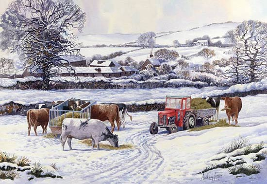 Wintering Out  - If you wish to order this as a Limited Edition Print - Click Now for details!